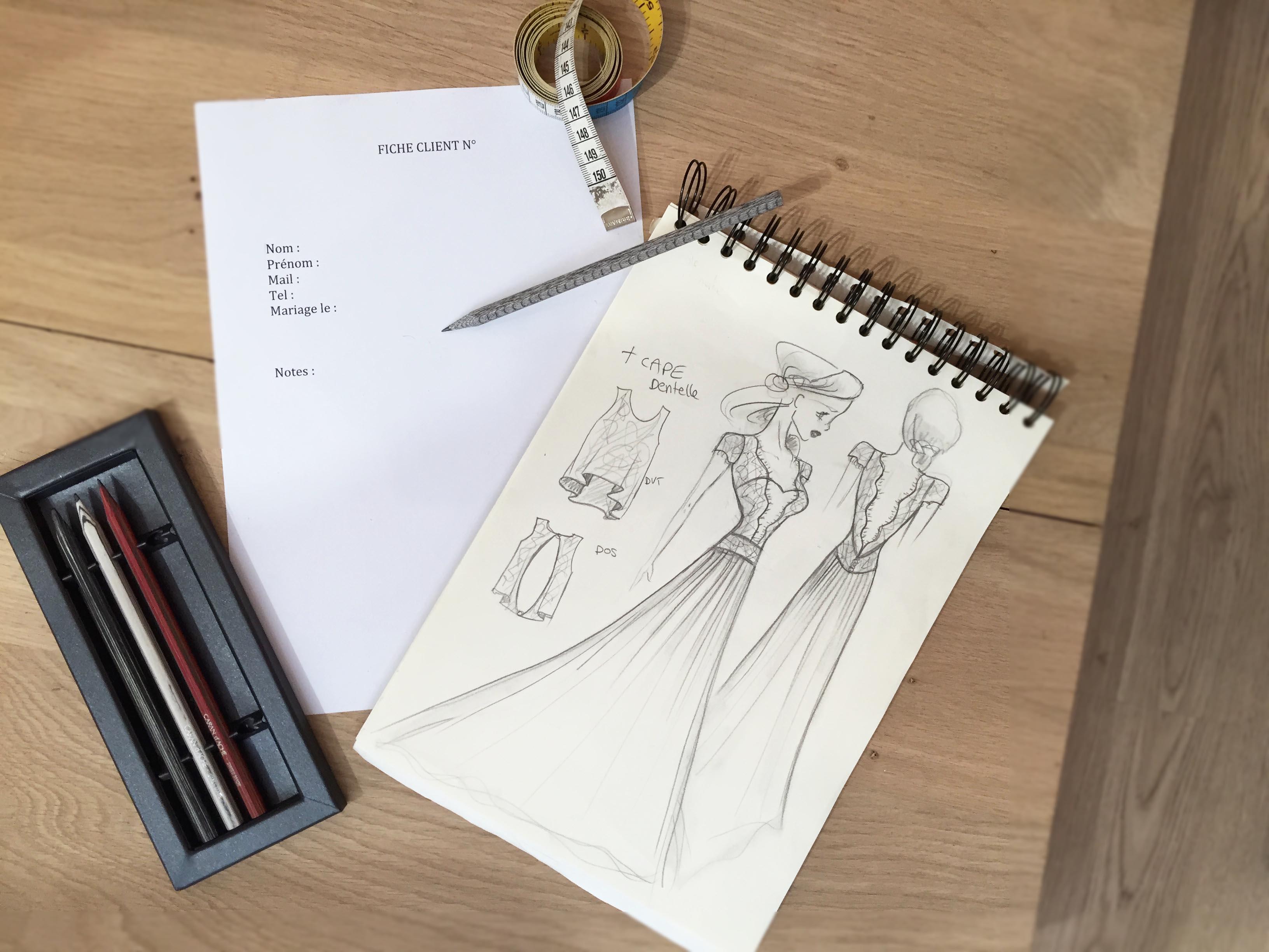 premiers pas en boutique de robes de mariée