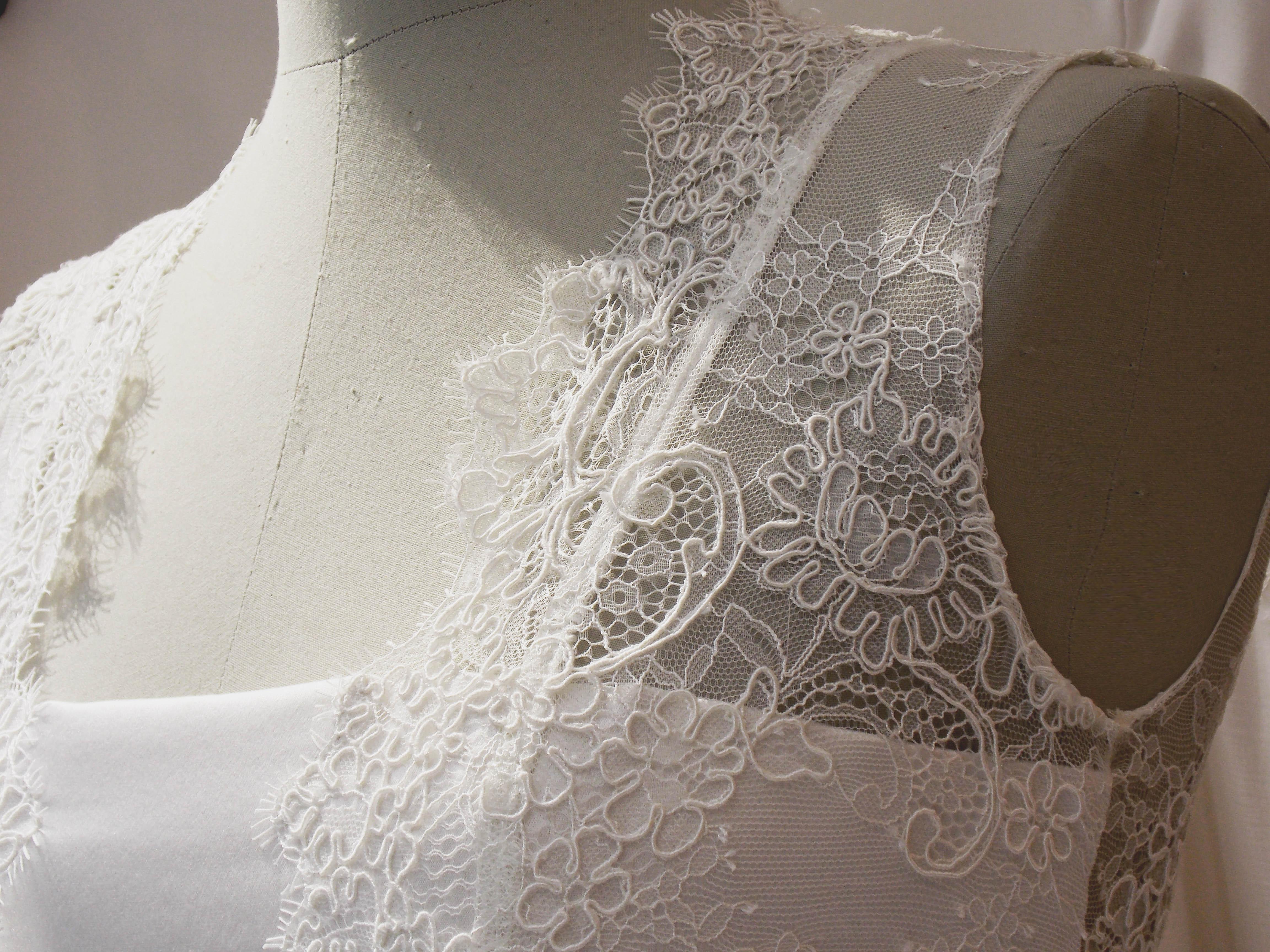 Caroline Takvorian, ses robes de mariée, sa marque de fabrique.