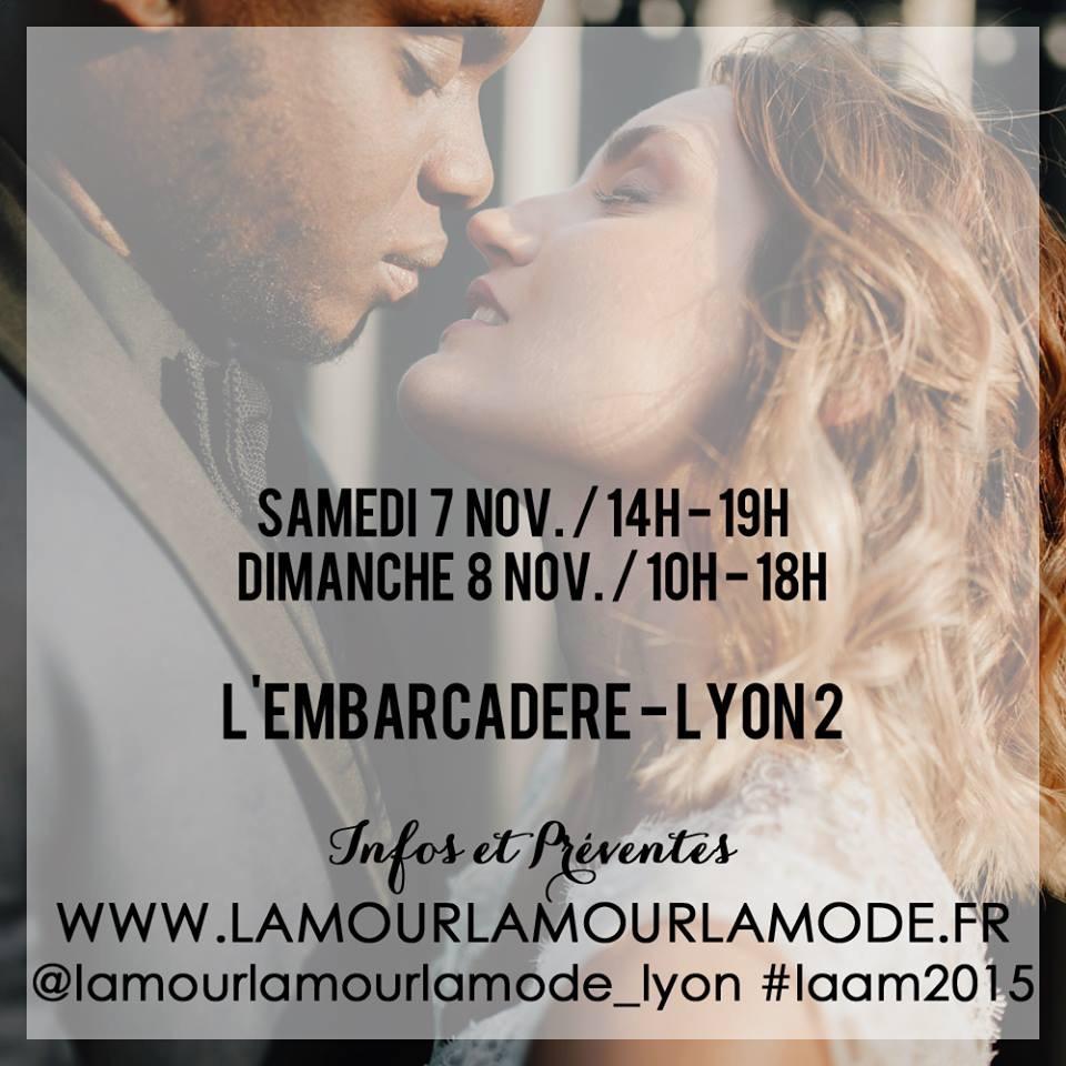 L'Amour L'Amour La Mode – Salon du mariage trendy à Lyon