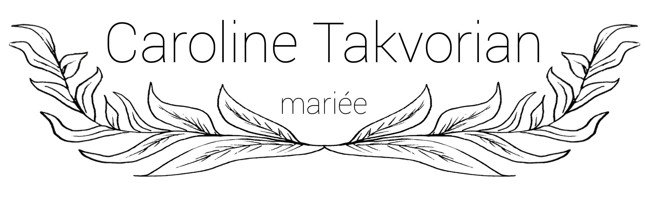 Un nouveau Logo pour Caroline Takvorian !
