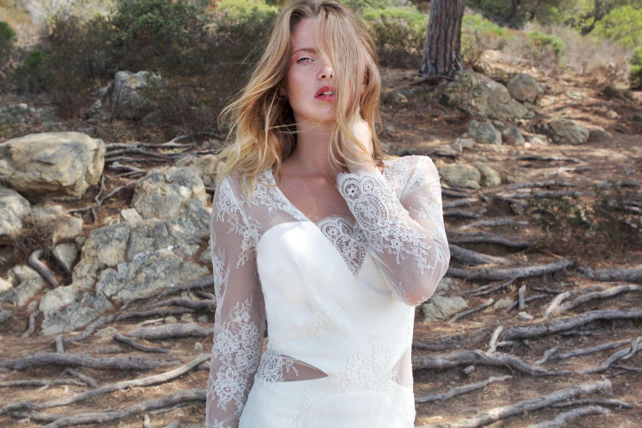 détails originaux sur notre robe de mariée juliette