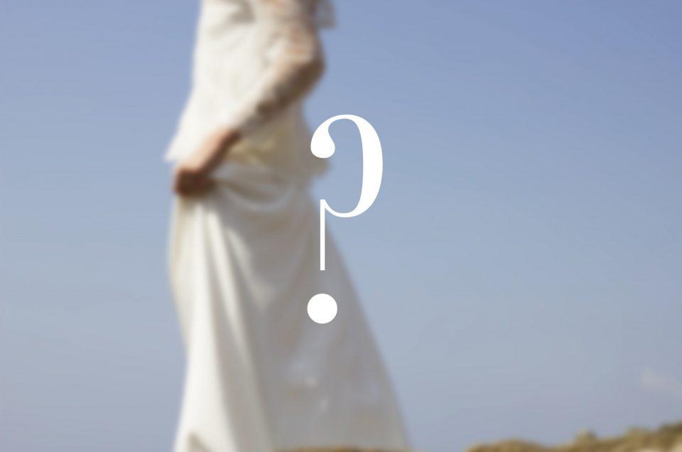Une robe de mariée, une personnalité !